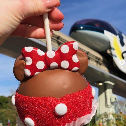 Disney Caramel Apple
