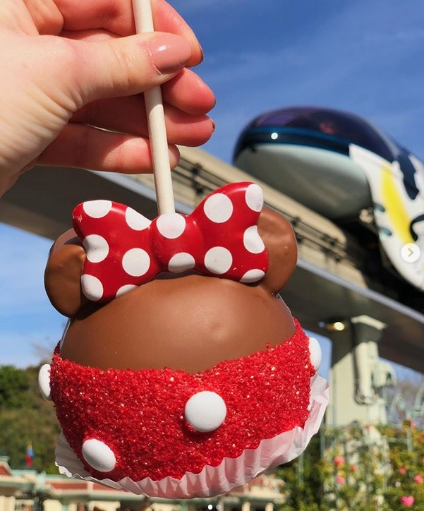 Disney Caramel Apple